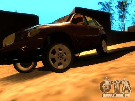 BMW X5 para GTA San Andreas vista direita