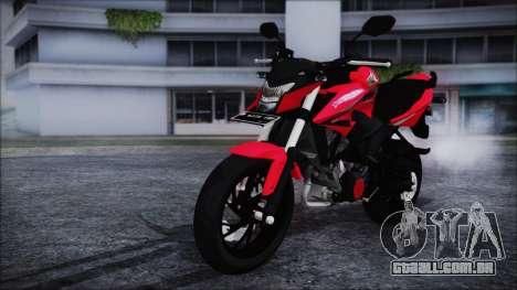 Honda CB150R Red para GTA San Andreas vista direita