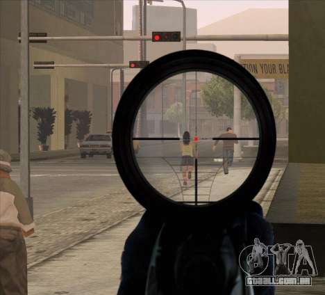 Sniper Scope v2 para GTA San Andreas