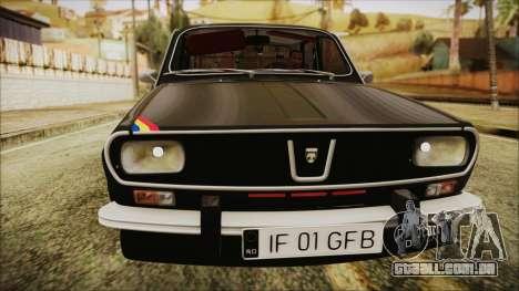 Dacia 1301LS GFB para GTA San Andreas traseira esquerda vista