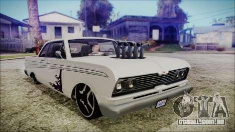 Blade Custom para GTA San Andreas
