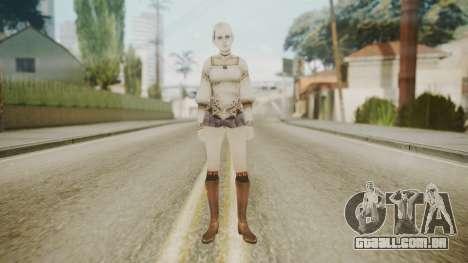 Demento Fiona Haunting Ground para GTA San Andreas segunda tela