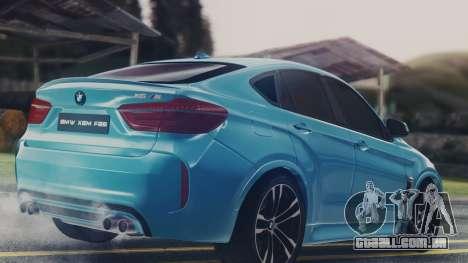 BMW X6M F86 v2.0 para GTA San Andreas vista direita