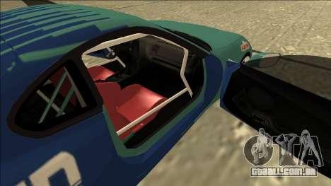 Toyota Supra Falken Drift para GTA San Andreas vista traseira