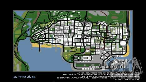 HD Radar Mapa para GTA San Andreas