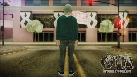 DLC Halloween GTA 5 ZombieCraneo para GTA San Andreas terceira tela