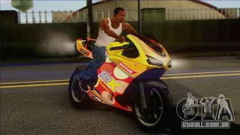 GTA 5 Bati HD para GTA San Andreas vista direita
