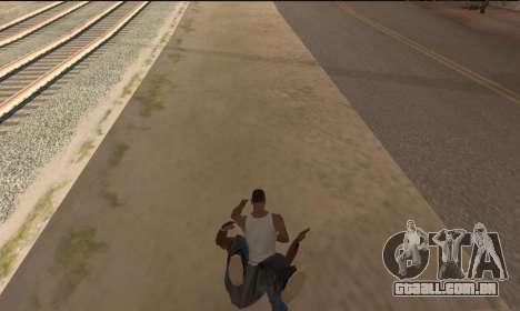 Para transportar o cadáver para GTA San Andreas segunda tela