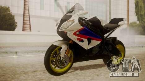 BMW S1000RR Limited para GTA San Andreas