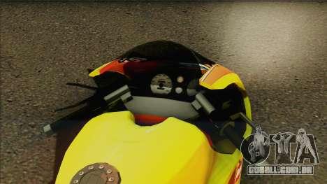 GTA 5 Bati HD para GTA San Andreas traseira esquerda vista