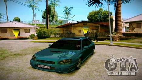 Subaru Impreza WRX STI Wagon para GTA San Andreas
