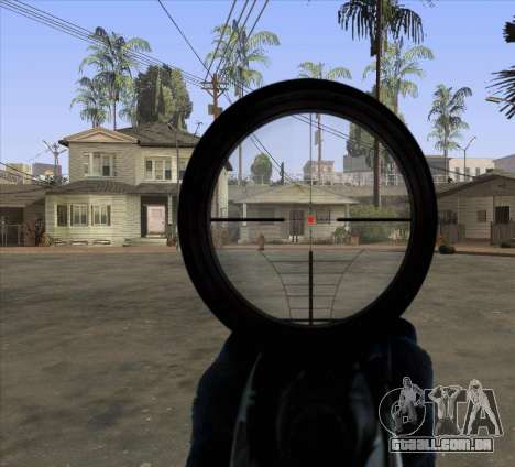Sniper Scope v2 para GTA San Andreas terceira tela