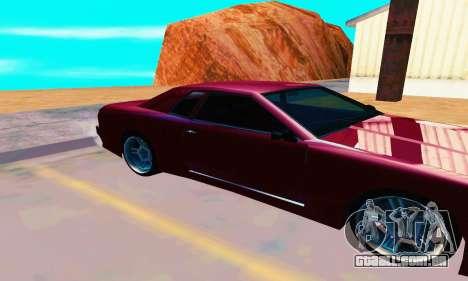 Elegy From Life para GTA San Andreas traseira esquerda vista