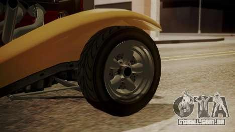 GTA 5 Albany Franken Stange para GTA San Andreas traseira esquerda vista