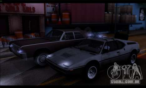 BMW M1 E26 Rusty Rebel para GTA San Andreas vista traseira