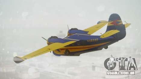 Grumman G-21 Goose N48550 para GTA San Andreas esquerda vista