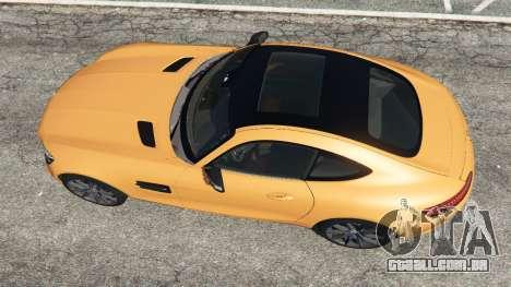 GTA 5 Mercedes-Benz AMG GT 2016 v2.0 voltar vista