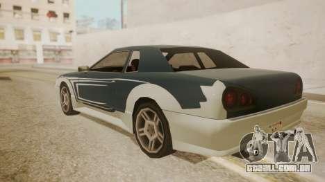 Elegy FnF Skins para GTA San Andreas vista superior