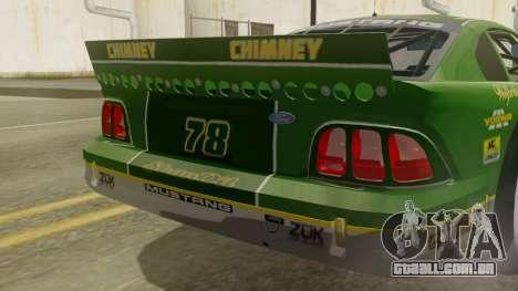 Ford Mustang Cobra 1994 TransAm para GTA San Andreas vista traseira