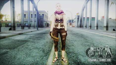 Mila Short Hair from Counter Strike v2 para GTA San Andreas segunda tela