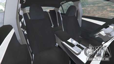 GTA 5 Lexus GS 350 F-Sport 2013 vista lateral direita