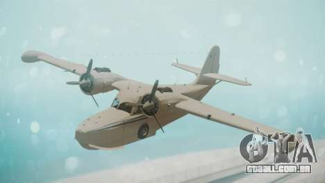 Grumman G-21 Goose WhiteBlueLines para GTA San Andreas