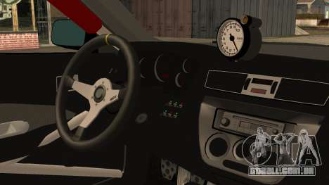 Mitsubishi Lancer Evolution Pushkar para GTA San Andreas vista direita