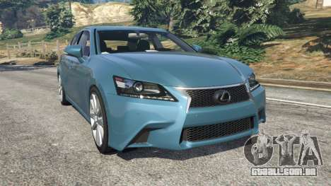 Lexus GS 350 F-Sport 2013 para GTA 5