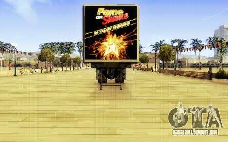 GTA V Fama ou Vergonha Trailer para GTA San Andreas vista direita
