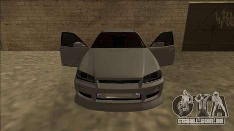 Nissan Skyline ER34 Drift para GTA San Andreas vista interior
