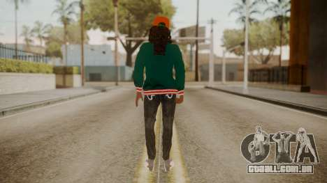 Home Girl Cat para GTA San Andreas terceira tela