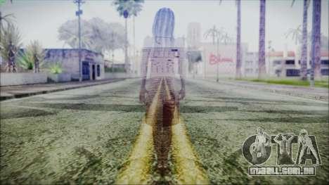 Ghost of Kayako Saeki para GTA San Andreas terceira tela