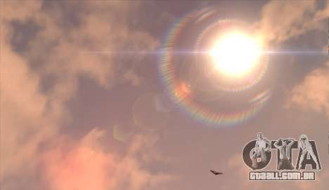 Cleo SkyBox para GTA San Andreas quinto tela