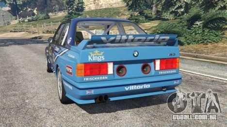 BMW M3 (E30) 1991 [Kings] v1.2 para GTA 5