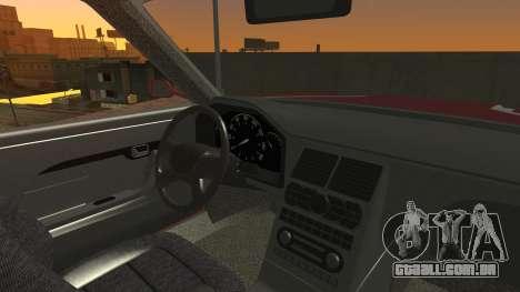 Sentinel PFR HD v1.0 para GTA San Andreas vista interior