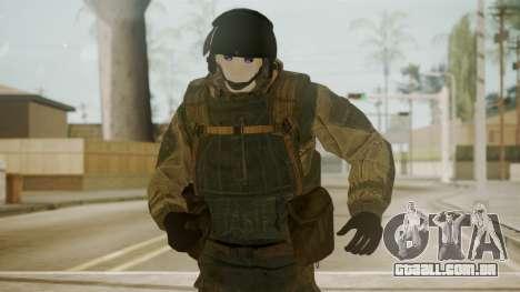 Spetsnaz Operator - 2010s para GTA San Andreas terceira tela