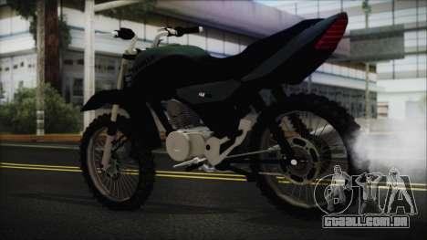 Zanella RX150 Cross para GTA San Andreas esquerda vista