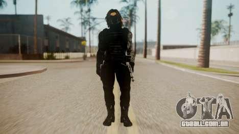 The Winter Soldier para GTA San Andreas segunda tela