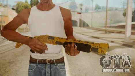 GTA 5 Pump Shotgun para GTA San Andreas terceira tela