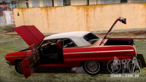 Chevrolet Impala SS 1964 Final para as rodas de GTA San Andreas