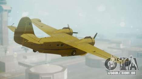 Grumman G-21 Goose VHLXD para GTA San Andreas esquerda vista