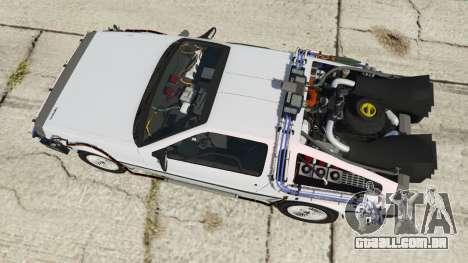 GTA 5 DeLorean DMC-12 Back To The Future voltar vista