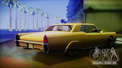 GTA 5 Vapid Chino Hydraulic Version IVF para GTA San Andreas esquerda vista