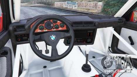 GTA 5 BMW M3 (E30) 1991 [Nalan] v1.2 vista lateral direita