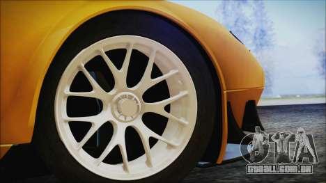 Ford GT-R mk.7 para GTA San Andreas traseira esquerda vista