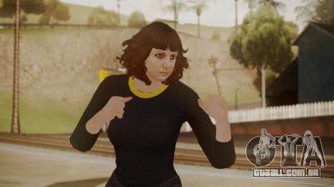 GTA Online - Custom Girl (Lowrider DLC Clothes) para GTA San Andreas