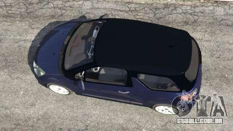 GTA 5 Citroen DS3 2011 voltar vista