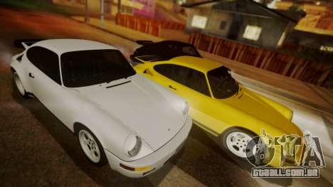 RUF CTR Yellowbird (911) 1987 HQLM para GTA San Andreas esquerda vista
