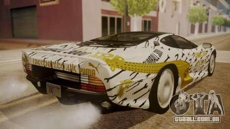 Jaguar XJ220 1992 HQLM para as rodas de GTA San Andreas