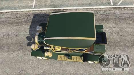 GTA 5 Ford Model T [one color] voltar vista